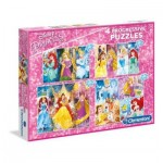 4 Puzzles - Disney Princesses
