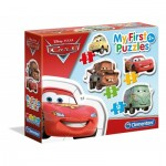 4 Puzzles - My First Puzzles - Cars