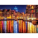 Puzzle   Amsterdam by Night