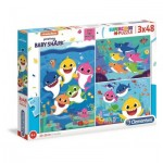 Puzzle   Baby Shark (3x48 Pièces)