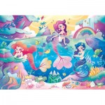 Puzzle   Glitter Effect - Mermaids