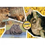 National Geo - Wildlife Adventure-Supercolor Puzzle