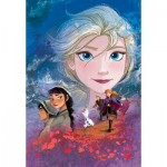 Puzzle   Supercolor Disney Frozen 2