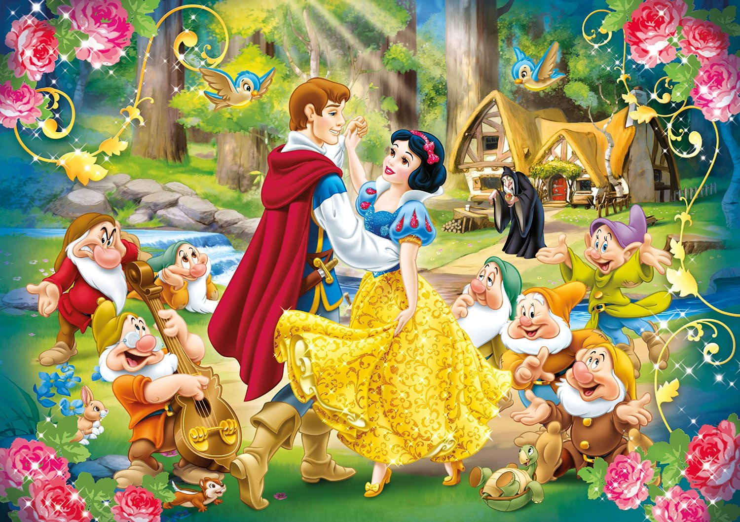 puzzle xxl blanche neige clementoni 24469 24 pi ces puzzles amour et tendresse planet 39 puzzles. Black Bedroom Furniture Sets. Home Design Ideas
