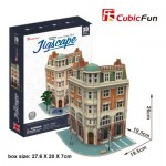 Cubic-Fun-HO4102h Puzzle 3D - Jigscape Collection - Corner Savings Bank (Difficulté: 5/6)
