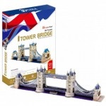 Cubic-Fun-MC066H Puzzle 3D - Londres, Tower Bridge (Difficulté : 6/8)
