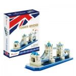 Puzzle 3D - Tower Bridge - Difficulté: 4/8