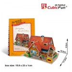 Cubic-Fun-W3128H Puzzle 3D World Style - Welcome to Germany