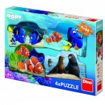 4 Puzzles - Finding Dory