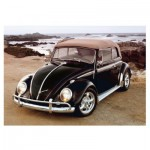 Puzzle   VW Beetle on Beach