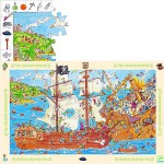 Puzzle  Djeco-07506 Les pirates