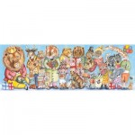 Djeco-07639 Puzzles Gallery - King's Party