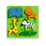 Puzzle en Bois - Incrocodible