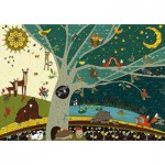 Puzzle  Deico-Games-76403 Nature Collection - Day and Night