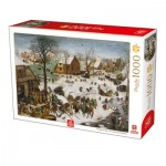 Puzzle  Deico-Games-76649 Breughel Le Vieux - The numbering at Bethlehem