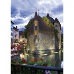 Puzzle  DToys-50328-AB33 France - Annecy