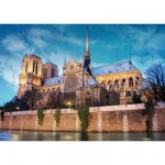 Puzzle  DToys-50328-AB34 France - Paris : Cathédrale Notre-Dame de Paris