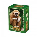 DToys-60556-ZO05 Mini Puzzle - Singe Gibbon