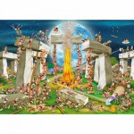 Puzzle  DToys-61218-CC02-(70906) Cartoon Collection - Stonehenge