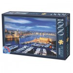Puzzle  Dtoys-62154-EC16-(74720) Port de Marseille, France