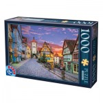 Puzzle  Dtoys-62154-EC17 Rothenburg, Allemagne