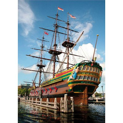 Puzzle DToys-64288-FP04 Hollande - Amsterdam