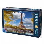 Puzzle  Dtoys-64288-FP12 La Tour Eiffel, Paris