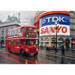 Puzzle  Dtoys-64301-NL01-(64301) Paysages nocturnes - Londres, Piccadilly Circus