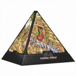 Puzzle  DToys-65964-PC01 Pyramide 3D - Egypte : Cartoon