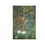 Puzzle  Dtoys-66923-KL08 Klimt Gustav: Country Garden with Sunflowers