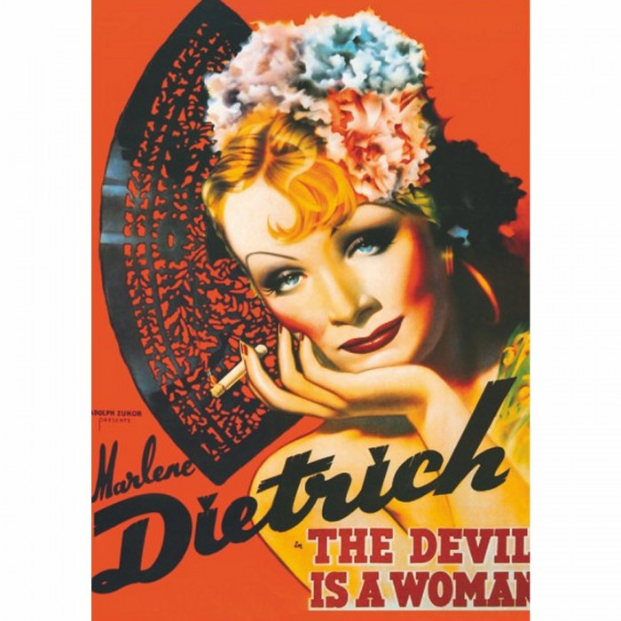Poster vintage - Marlene Dietrich, The Devil is a Woman