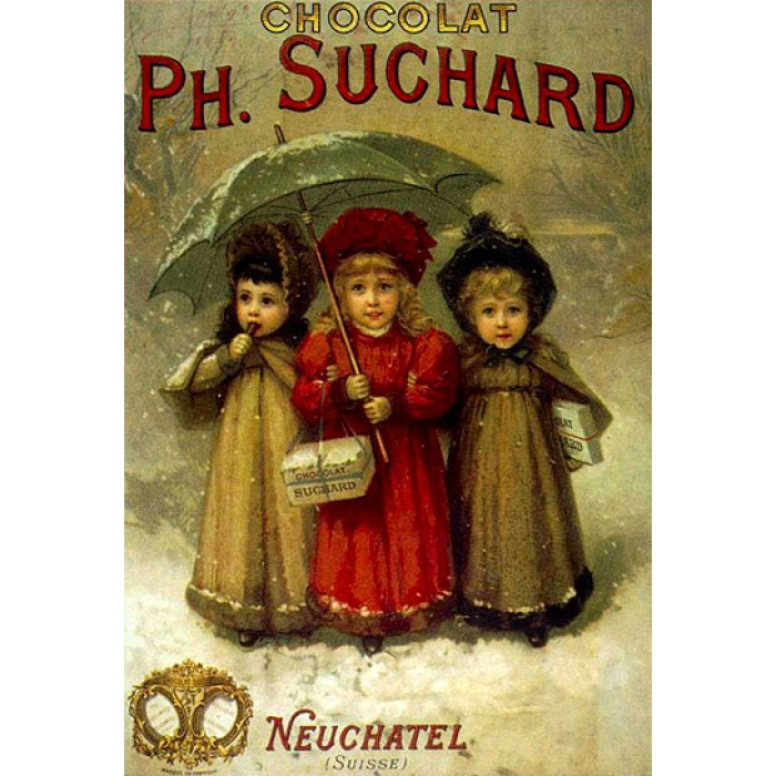 Poster vintage - Chocolats Philippe Suchard