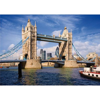 Puzzle DToys-70609 Royaume-Uni - Londres : Tower Bridge