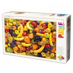 Dtoys-71958-HD01-(71958) Puzzle Difficile : Fruits