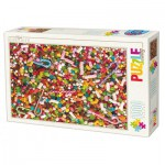 Dtoys-71958-HD02 Puzzle Difficile : Bonbons