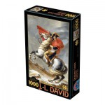 Puzzle  Dtoys-72719-DA01-(72719) David Jacques-Louis : Napoléon Bonaparte franchissant les Alpes