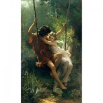 Puzzle  Dtoys-72740-CO-02 Pierre-Auguste Cot: Le Printemps, 1873