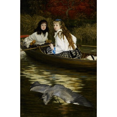 Puzzle Dtoys-72771-TI01 James Tissot: On the Thames, A Heron