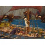 Puzzle  Dtoys-72917-WA01-(72917) Waterhouse John William : Ulysse et les Sirènes, 1891