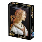 Puzzle   Botticelli Sandro : Idealised Portrait of a Lady