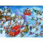 Puzzle   Cartoon Collection - Hiver