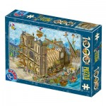 Puzzle   Cartoon Collection - Notre Dame