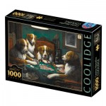 Puzzle   Cassius Marcellus Coolidge - Poker Game