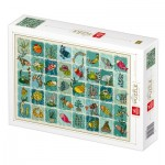 Puzzle   Pattern Aquatic Animals