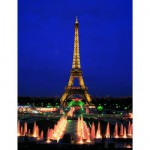 Educa-10114 Puzzle phosphorescent - Paris, La Tour Eiffel