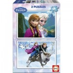Educa-15768 2 Puzzles - La Reine des Neiges