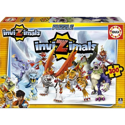 Puzzle Educa-16180 Invizimals