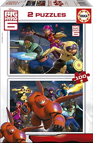 Educa-16337 2 Puzzles - Big Hero