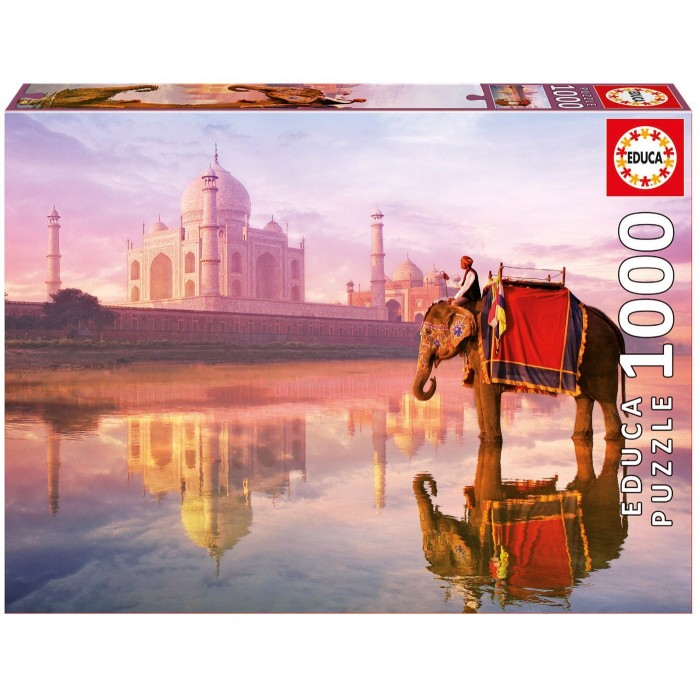 Elephant at Taj Mahal