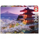 Puzzle  Educa-16775 Mount Fuji, Japon